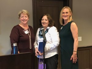 Wilton Meadows employee Cynthia Frantisak was recently honored by the Connecticut Chapter of the Alzheimer's Association.