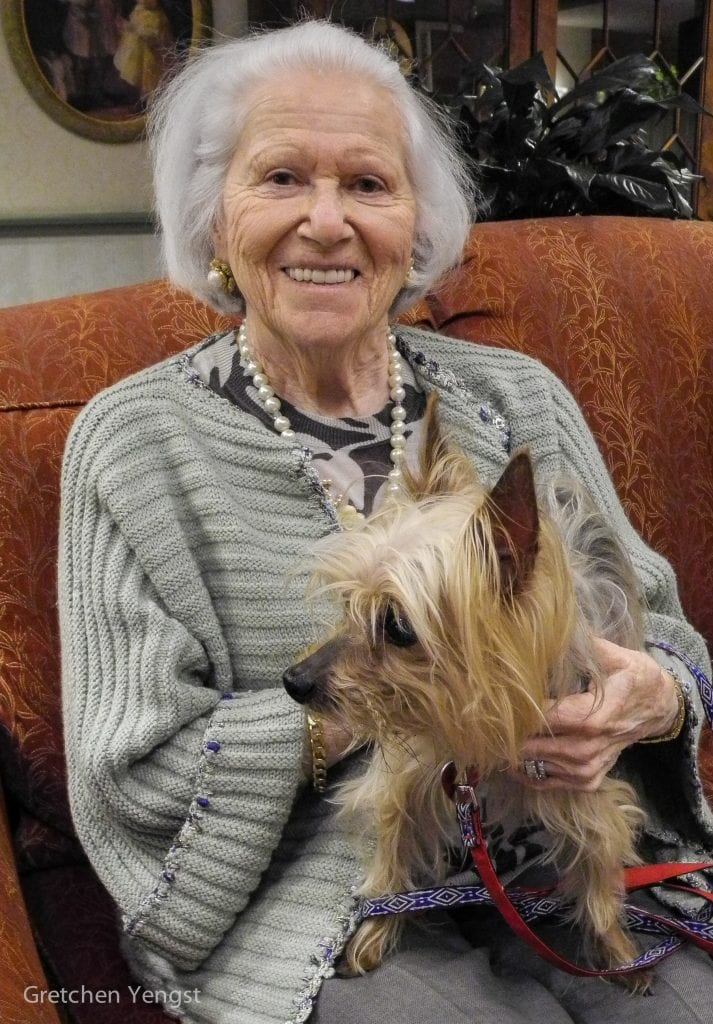 The benefits of pets for seniors go beyond simple happiness- but they sure have that effect!